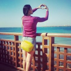 mery of the style - bolso amarillo flúor de Paco Martinez #blogger #ootd