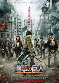 Nuevo tráiler de la película de imagen real de Ataque a los Titanes