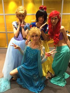 Royz as Disney Princesses Hahaha why? I just- ugh. I shouldn't even question it.