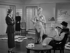 """""""Roberta"""" 1935. A musical with Irene Dunne, Fred Astaire and Ginger Rogers. Costumes by Bernard Newman."""