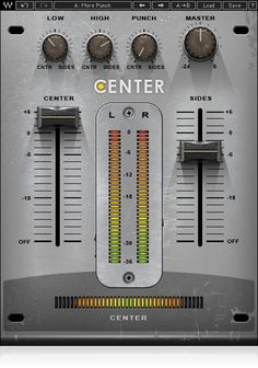 Ideal for final mixes and mastering, the innovative Center stereo enhancer plugin lets you bring out or bring down vocals without affecting the rest of your mix.