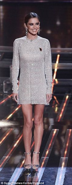 Fashionistas: Cheryl Fernandez-Versini, 32, went head-to-head with Rita Ora, 24, on the fi...