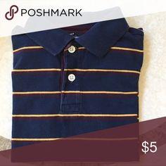 Short Sleeve Polo Striped polo shirt   Good used condition   Bundle and save Shirts & Tops Polos