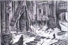 Windhelm Castle Rough Sketch