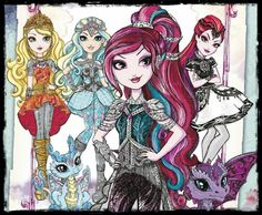 eahdolls:  Only 6 days left for the Ever After High: Dragon Games™ movie! Who else is hexcited? Don't miss it this January 29 hexclusively on Netflix!
