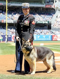 """""""All the stuff I was going through personally he was always right there, no judgement,"""" Leavey says about her canine partner Rex"""