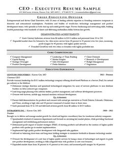 Pin By Kayla Torres On PR Resumes Executive Resume