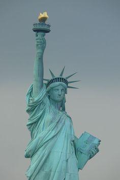 """The Lady Liberty"". ""Estátua da Liberdade"". Nova York, USA."