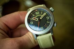 Aviation style, in a robust military package.     #drakenwatches #adventuregear #militarygear #wornandwound #microbrand #militarywatch #watchuseek #desertstorm #tactical #wristporn #kalahari #toolwatch #wristtime #automaticwatch #timepiece #watch #watches #watchlover