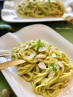 Sauce à la courgette et au comté pour pâtes : Diet & Délices - Recettes dietétiques