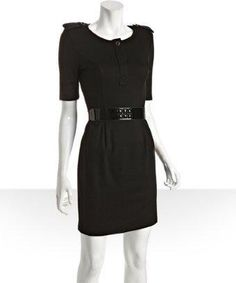 ABS black jersey #dress $39 (reg 225!)