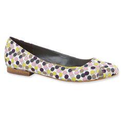 Lela Rose for Payless Flats; Satin; $43 at payless.com.
