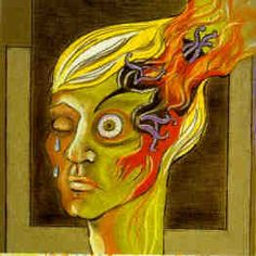 What an accurate artistic expression of migraine. Ignore the link though. I have no idea if pot would help, but I'm sure I'd have a lot more trouble getting migraine meds in prison, so I'll just leave it to supposition. Chronic Migraines, Chronic Illness, Chronic Pain, Fibromyalgia, Mental Illness, Migraine Art, Migraine Relief, Migraine Meds, Migraine Quotes