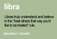 The Golden Rule of Libra.