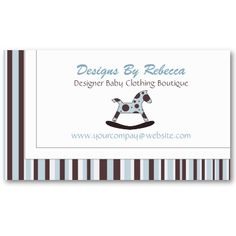 Rocking Horse Business Card #BusinessCards