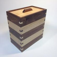 Stacking Bo With Lipped Lid Woodworking 3rdrevolution Wooden Box Plans