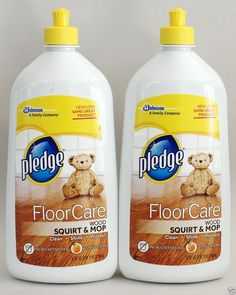 2 Pledge Floor Care Clean Amp Restore Wood Care With Almond