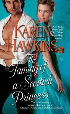 The Taming of a Scottish Princess (The Mysterious Hurst Amulet) by Karen Hawkins