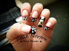 Mickey French Manicure