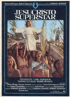 """Jesucristo Superstar"", ""Jesus Christ Superstar"" (1973). COUNTRY: United States. DIRECTOR: Norman Jewison."