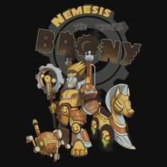 Nemesis the Original Brony T-Shirt $11 City of Heroes tee at Unamee!