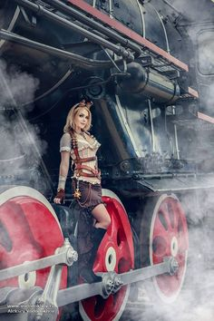 "steampunktendencies: "" Model: Irina Mayer - Photographer: Алексей Вододохов """