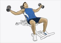An poster sized print, approx (other products available) - Illustration of man exercising with dumbbells - Image supplied by Fine Art Storehouse - Poster printed in the USA Work Colleague, Weight Training, Canvas Tote Bags, Sport Outfits, Gifts In A Mug, At Home Workouts, Poster Size Prints, Exercises, Fitness Men