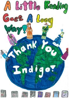 A Thank You from one of our #Indigo #LoveOfReading grant recipient schools. (2007) #IndigoLOR10
