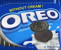 """Fake Cookie Flavors : """"national junk food day"""" I hate the cream in the middle!!!"""
