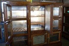 Eight Door McCray converted to a frost free refrigerator. From Antique Vintage Refrigerator.