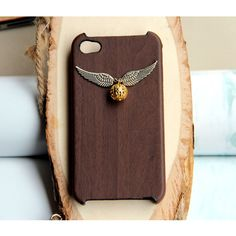 Harry Potter Enchanted Steampunk Golden snitch iPhone 4 Case