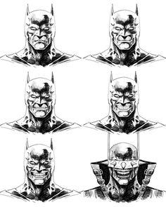 A few states from yesterday's Batman who Laughs evolution speed sketching video. Any suggestions on who to tackle next? Batman Metal, Batman Dark, Batman Vs Superman, Batman Comics, Drawing Superheroes, All Superheroes, Comic Art, Comic Books, Greg Capullo