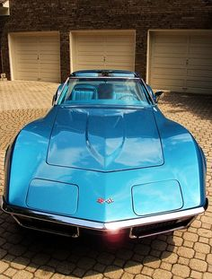 Corvette 1970, not the fastest, but I love the way it looks.  Always have liked girls with big fenders...