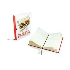 SUCK UK My Family Cookbook