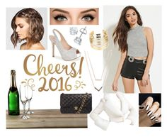 """2016"" by tida2345 ❤ liked on Polyvore featuring Forever 21, Lauren Lorraine, WithChic, Chanel and Michael Kors"