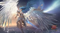 league of angels League Of Angels, Fantasy Characters, Female Characters, Fictional Characters, Angels And Demons, Fantasy Girl, Character Concept, Character Ideas, Faeries