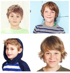 Bottom right -- this is how my brothers looked in the 80s and I made fun of them...now I want the same haircut for my son...I'm a complete hypocrite.
