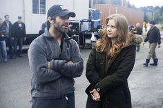 Zack Snyder and Amy Adams - 'Man of Steel'