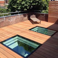 The Flushglaze Walk On is a fixed rooflight designed for flat roof applications to withstand domestic foot traffic. When installed the Flushglaze Walk On rooflight provides a 'frameless' internal view Roof Balcony, Pergola With Roof, Pergola Shade, Patio Roof, Flat Roof Design, House Extension Design, Roof Extension, Fibreglass Flat Roof, Flat Roof Lights