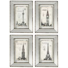 Found it at Joss & Main - 4-Piece Alessia Mirrored Wall Decor Set
