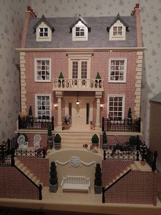 Victorian Dolls House Furnished - Dolls House Emporium | eBay