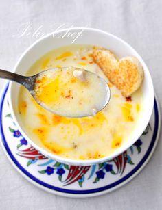 Turkish Wedding Soup – Very Delicious! Turkish Wedding Soup – Very Delicious! Granola Sans Gluten, Porc Au Caramel, Turkish Recipes, Ethnic Recipes, Soup Recipes, Cooking Recipes, Turkish Wedding, Turkish Kitchen, Wedding Soup