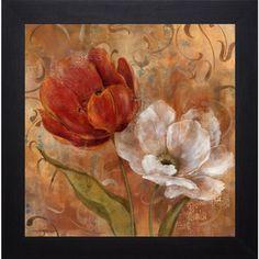 @Overstock.com - Flower Duet II' by Carol Robinson Framed Art Print - Artist:  Carol RobinsonTitle: Flower Duet IIProduct type: Framed Art Print  http://www.overstock.com/Home-Garden/Flower-Duet-II-by-Carol-Robinson-Framed-Art-Print/8965409/product.html?CID=214117 $75.99