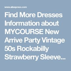 Find More Dresses Information about MYCOURSE New Arrive Party Vintage 50s Rockabilly Strawberry Sleeveless Pin up Women Summer Dress Audrey Hepburn Solid Slim Dress,High Quality dress to wear to fall wedding,China dress stilettos Suppliers, Cheap dress jilbab from MYCOURSE Official Store on Aliexpress.com