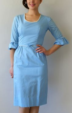 1950s Vintage Wiggle Dress - from sweet bee finds
