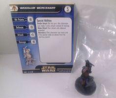 12X Star Wars Clone Strike 58/60 Weequay Mercenary (C) Miniatures