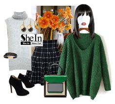 """Green Dolman Sweater - Shein.com"" by neicy-i ❤ liked on Polyvore featuring 3.1 Phillip Lim, Pierre Hardy, Giuseppe Zanotti, Marc by Marc Jacobs, GREEN, Sweater and shein"