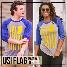 dea78124fe798 USI Flag Baseball Tee. Fort Wayne IndianaFlagUnited StatesCatalogBaseball Flags