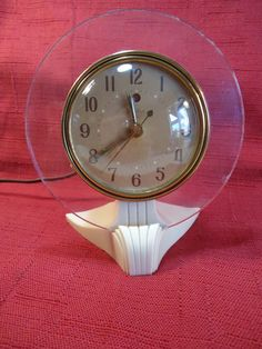 "Telechron ""Serene"" Alarm Clock"