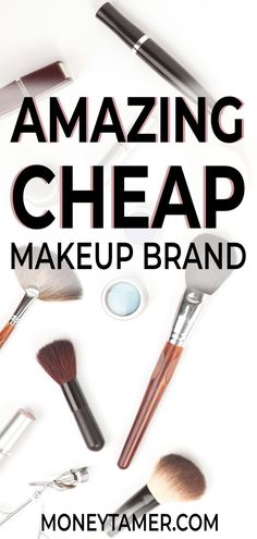Looking for the best budget makeup? I've seriously found the best brand! These products are affordable and are makeup dupes for many high-end brands. Wear luxury makeup at a drugstore beauty price tag. Cheap Makeup Brands, Best Cheap Makeup, Farmasi Cosmetics, Money Jars, Household Expenses, Save Money On Groceries, Drugstore Beauty, Frugal Living Tips, Makeup Dupes